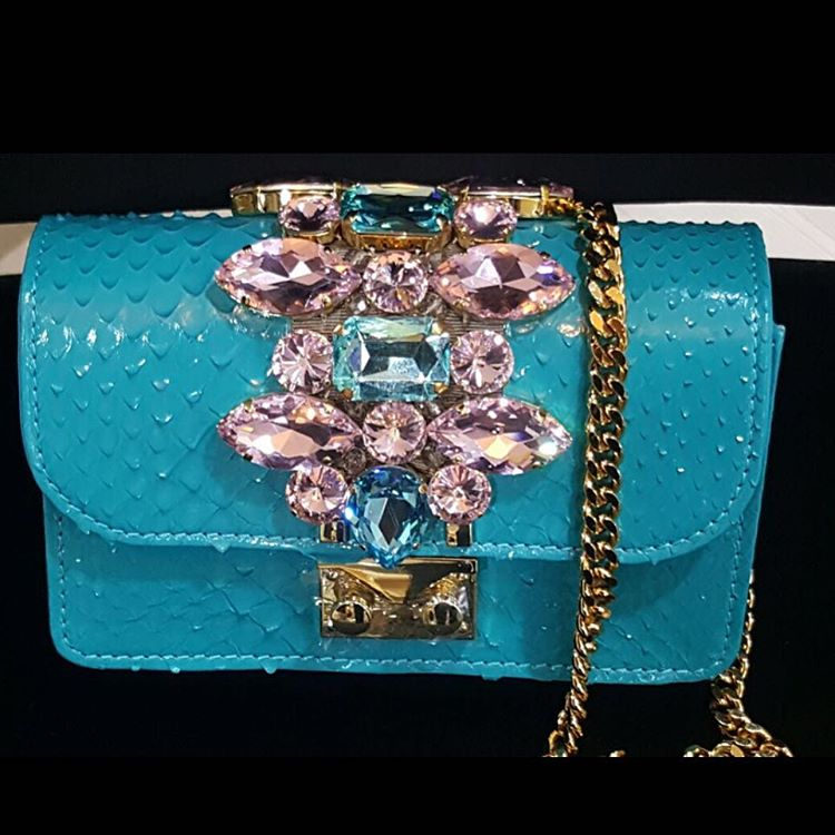 Turquoise bag SS 2016